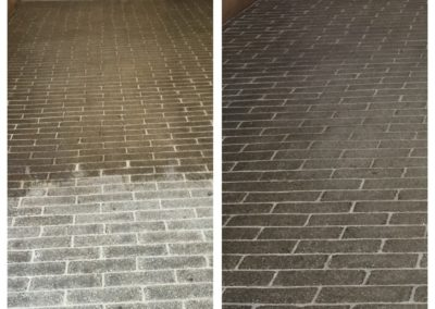 paver polsihing before and after boston stone