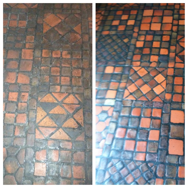 Harvard Lampoon Building Floor Boston Stone Restoration