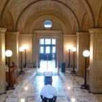 Boston Public Library Marble Entrance - marble restoration by www.bostonstonerestoration.com