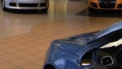 Dealership and Showroom Floor Cleaning and Polishing