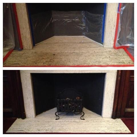 Fireplace And Facing Cleaning Service Ma Boston Stone Restoration