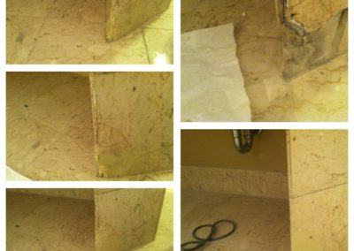 tile repair before and after