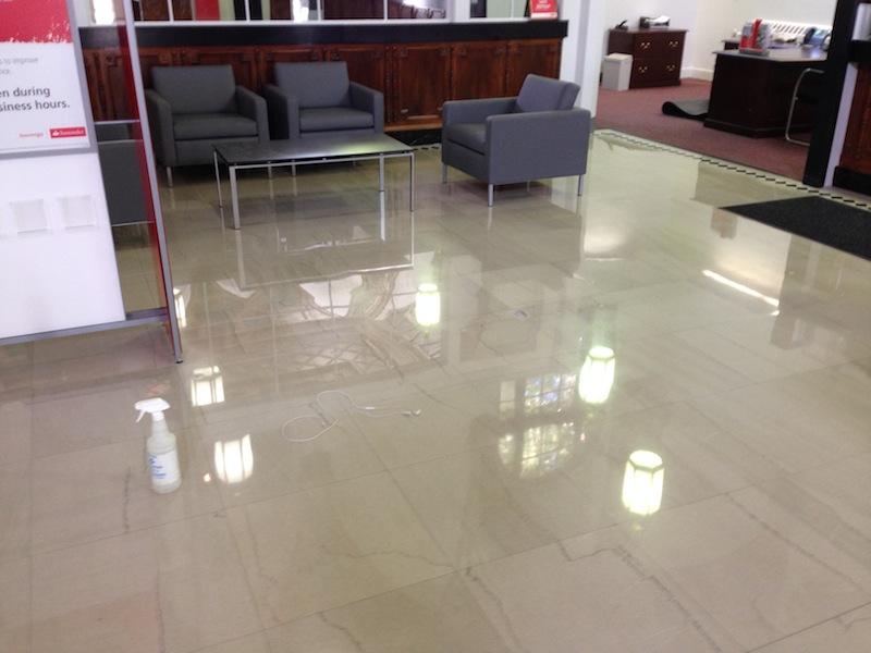 Marble Floor Restoration : Bank marble floor restoration boston stone