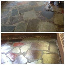 sealing flagstone sunroom
