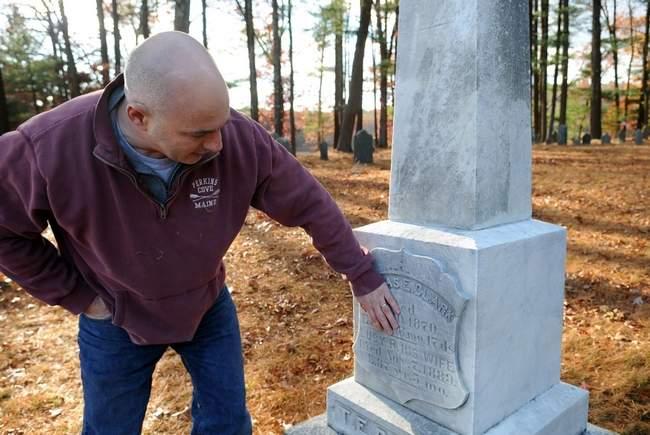 paul boston stone restores grave markers sharon ma