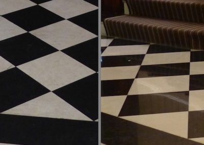 before and after marble tile boston stone