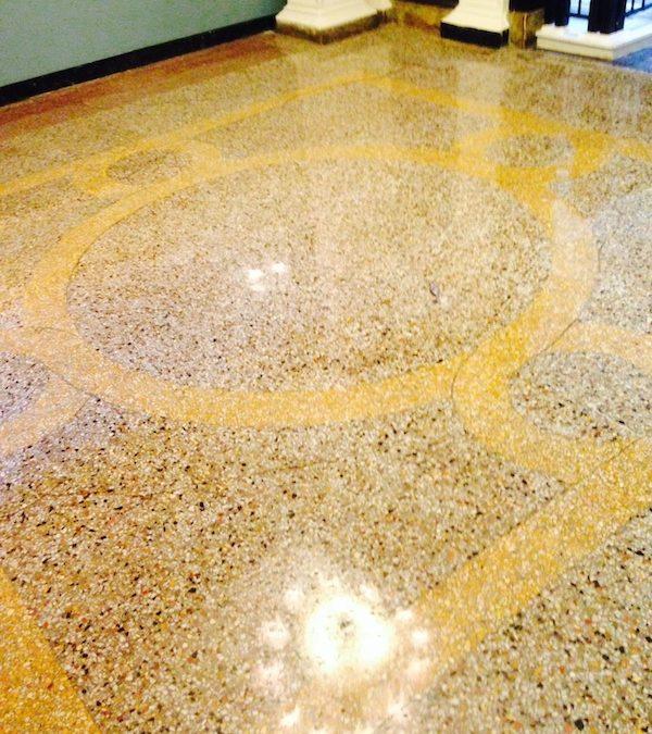 Beacon Hill Boston Marble Lobby Restoration