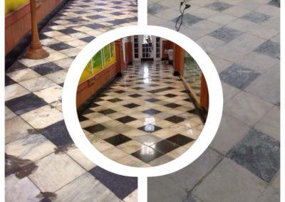 hidden marble floor restored greenfield ma