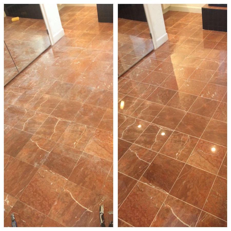 Marble Floor Restoration : Master marble bath restoration cambridge ma boston