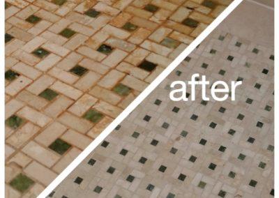 sherborn ma shower tile restoration