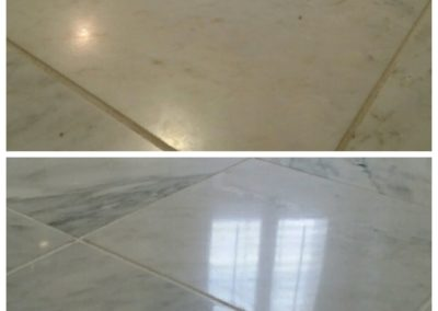 How long does stone floor polishing take