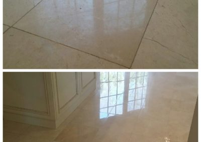 is granite marble stone refinishing messy