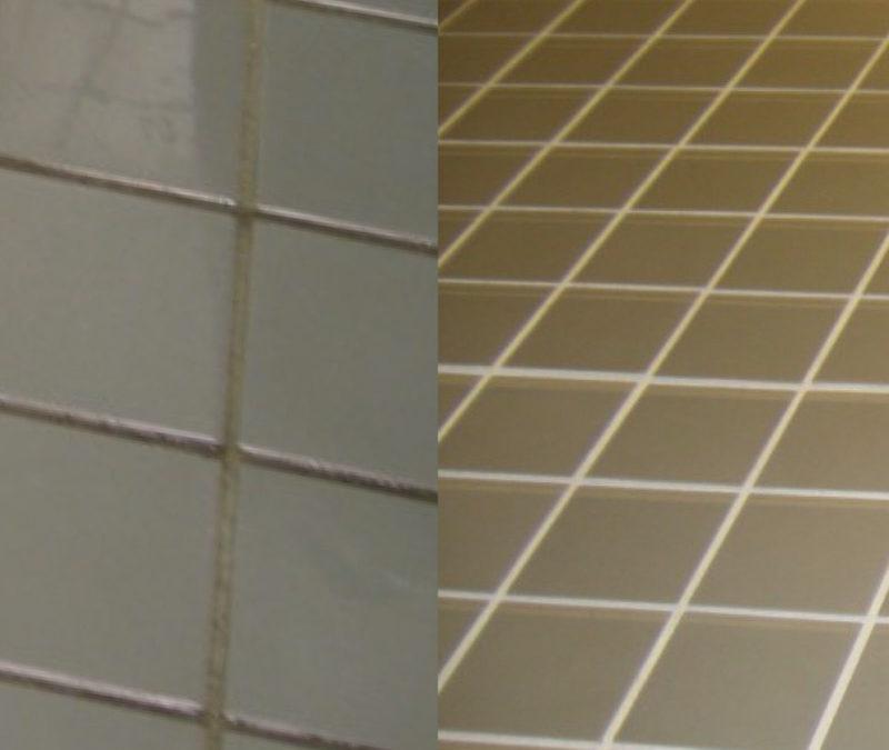 Restroom Tile and Grout Renovation ❂