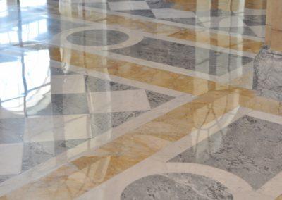 Aldrich Mansion Warwick, RI Marble Floor