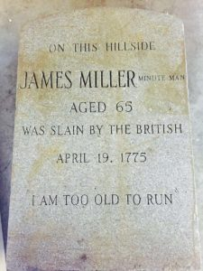 I am too old to run somerville marker to be restored before