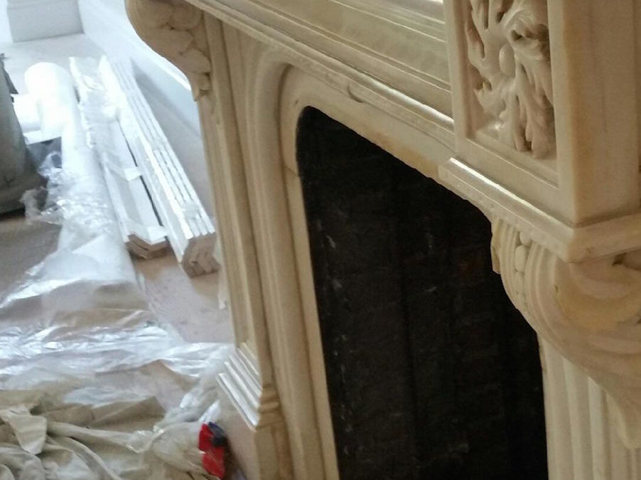 Fireplace & Mantle Restoration Stone Types
