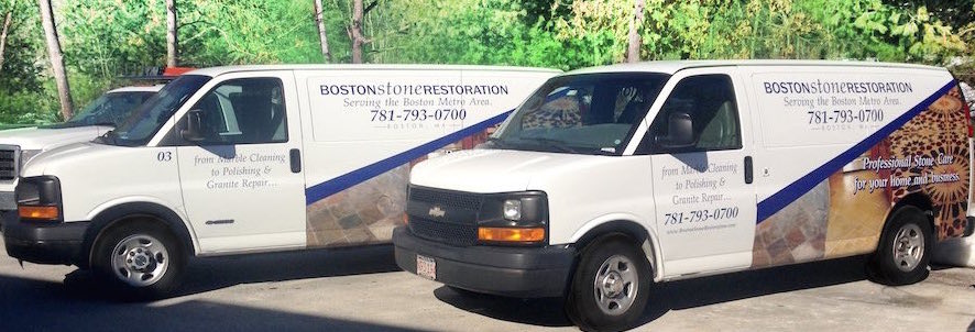 boston stone restoration trucks