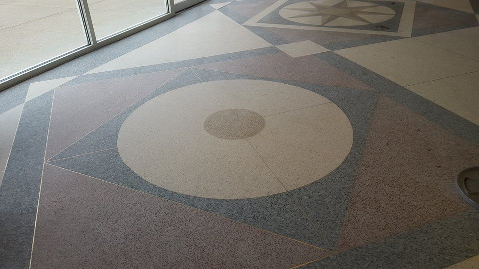 Terrazzo Refinished For Charlestown Condo Association