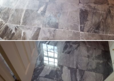 marble tile salt sand restoration massachusetts