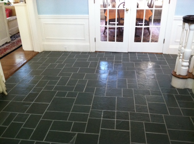 Indoor And All Season Slate Floor Renovations Boston Stone Restoration