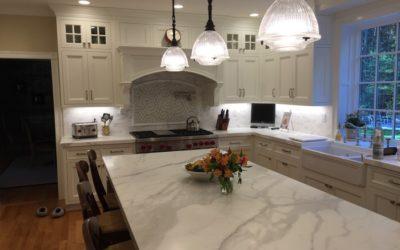 Beautiful, care free marble counter tops in Sudbury, MA