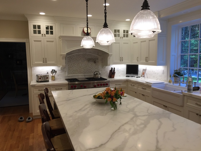 Beautiful care free marble counter tops in Sudbury MA Boston
