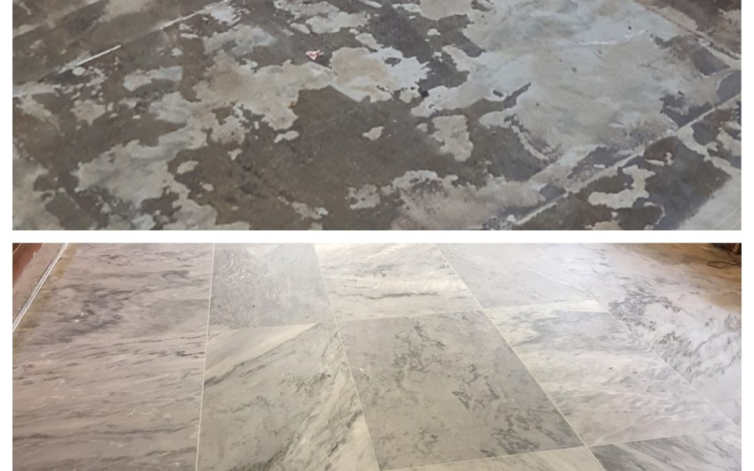 Hidden Marble Floor Revealed in Manchester Library