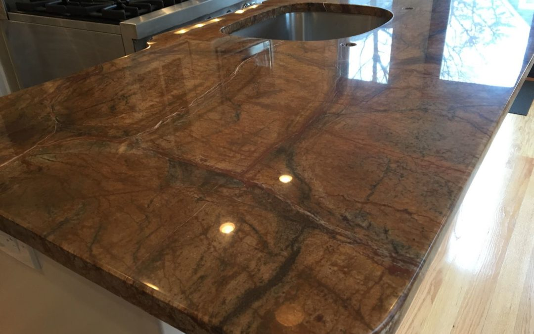 Rainforest Granite Restoration in Cambridge, MA