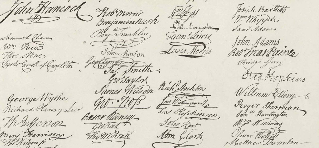 Rhode Island Signers Of The Declaration Of Independence