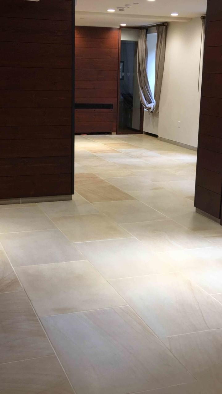Dunster House Floor Tile Restoration Cambridge Ma Boston Stone
