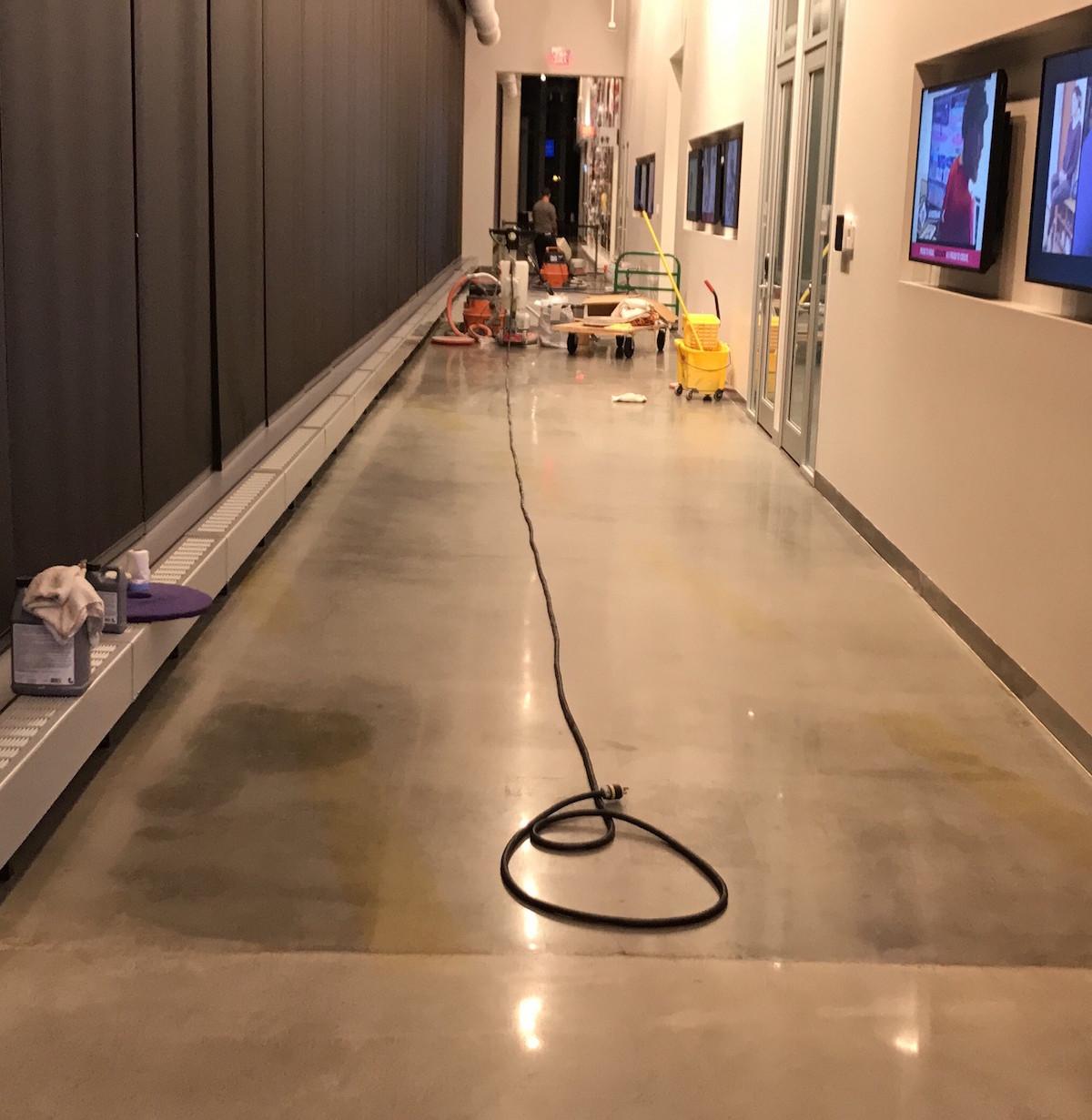 concrete floor restoration AllstonMA during