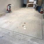 Damaged limestone floor restored in Boston