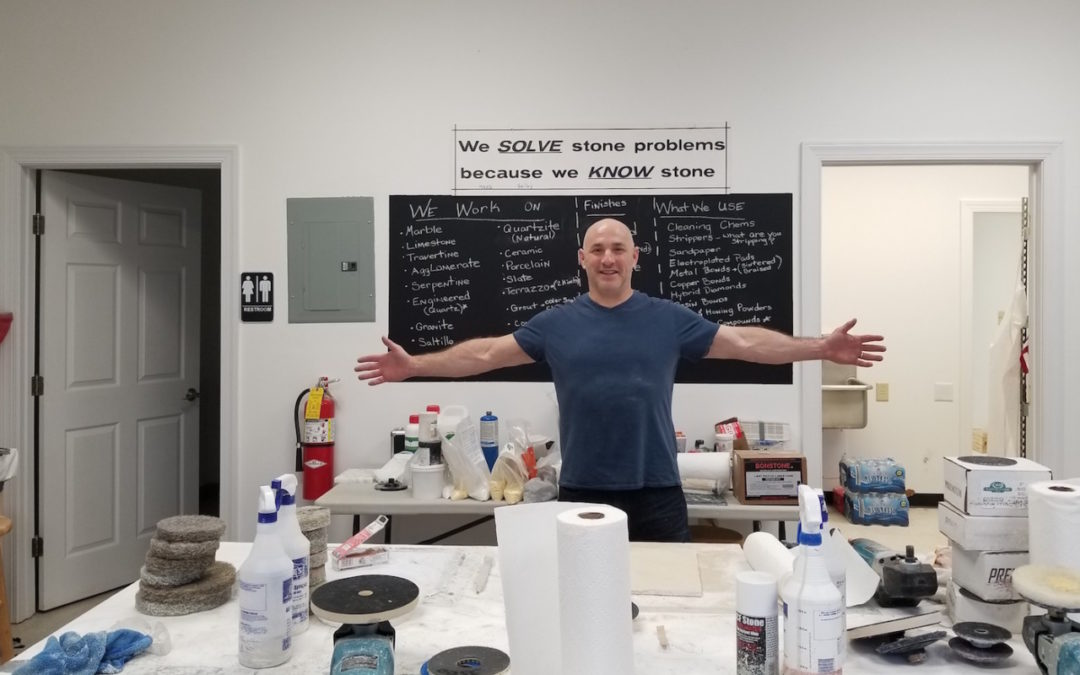Stone restoration classes – from student to teacher!