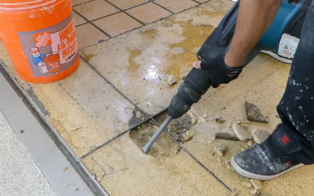 Don't replace, repair your terrazzo!