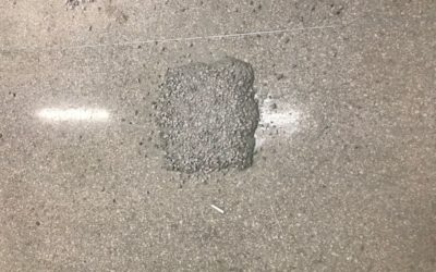 Terrazzo Patching at Boston's Logan Airport
