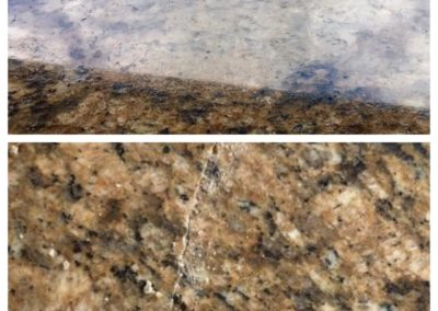 cracked granite repair massachusetts before after