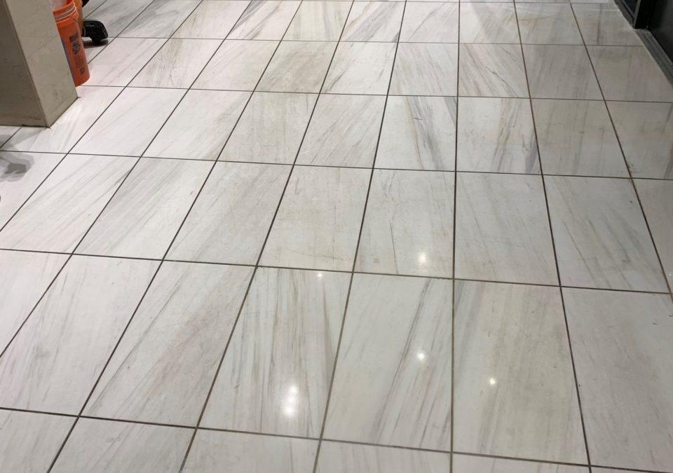 Marble Floor Restoraton | Porter Square Hotel