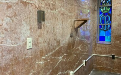 """Candle Room"" Marble Restoration 