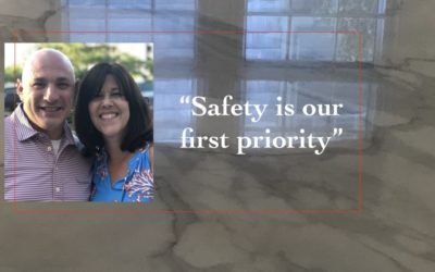 Safety is our #1 Priority: Home Sanitizing & Stone Care