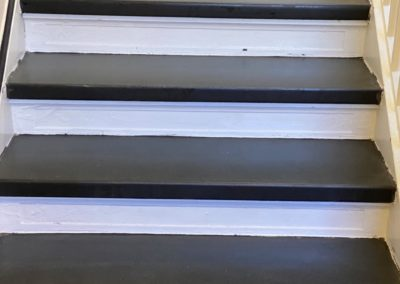 Slate stairs, after