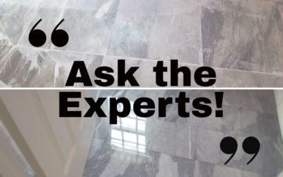 Vol. 1 Ask the Experts! What are the brown stains on my marble and matte vs. honed finishes