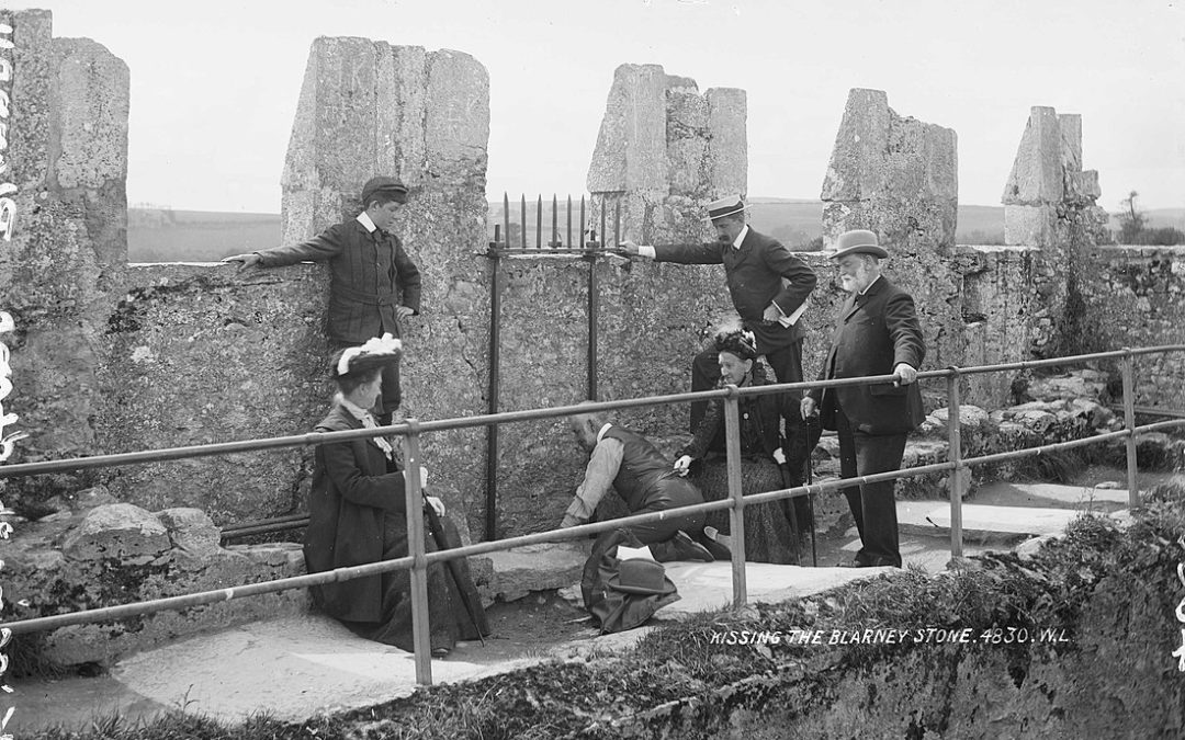 Stone History: The Irish Tradition of Kissing This Famous Limestone 🍀