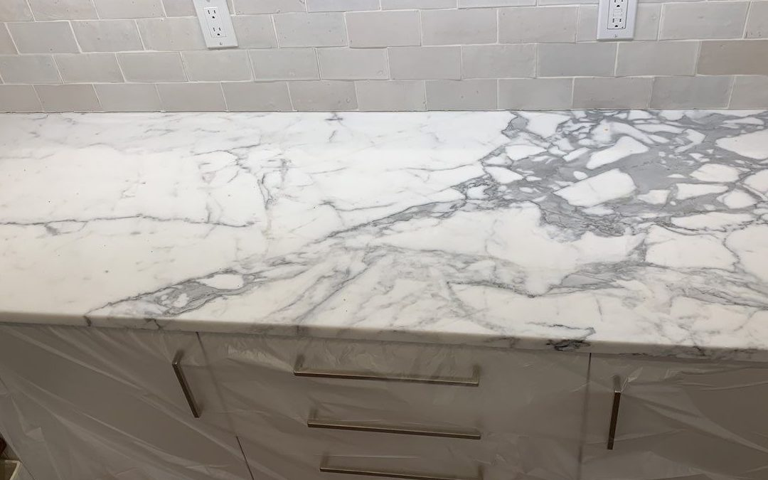 White Marble Countertops * How to Protect Them