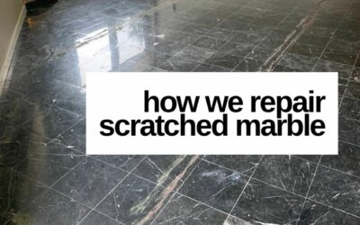 How to Remove Scratches From Marble